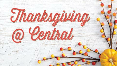 Thanksgiving Day Worship & Lunch