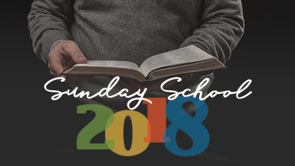 Adult Sunday School | Winter 2018