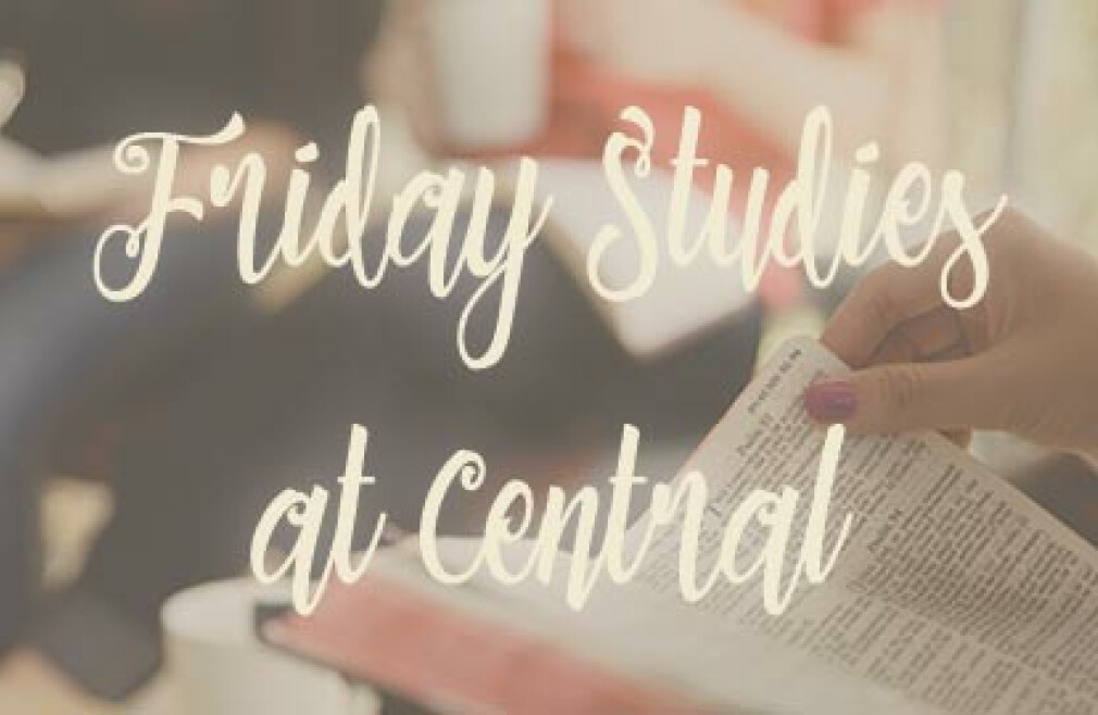 Women's Ministry Friday Study Group   S 2019