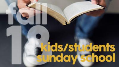 Sunday School   Kids & Students