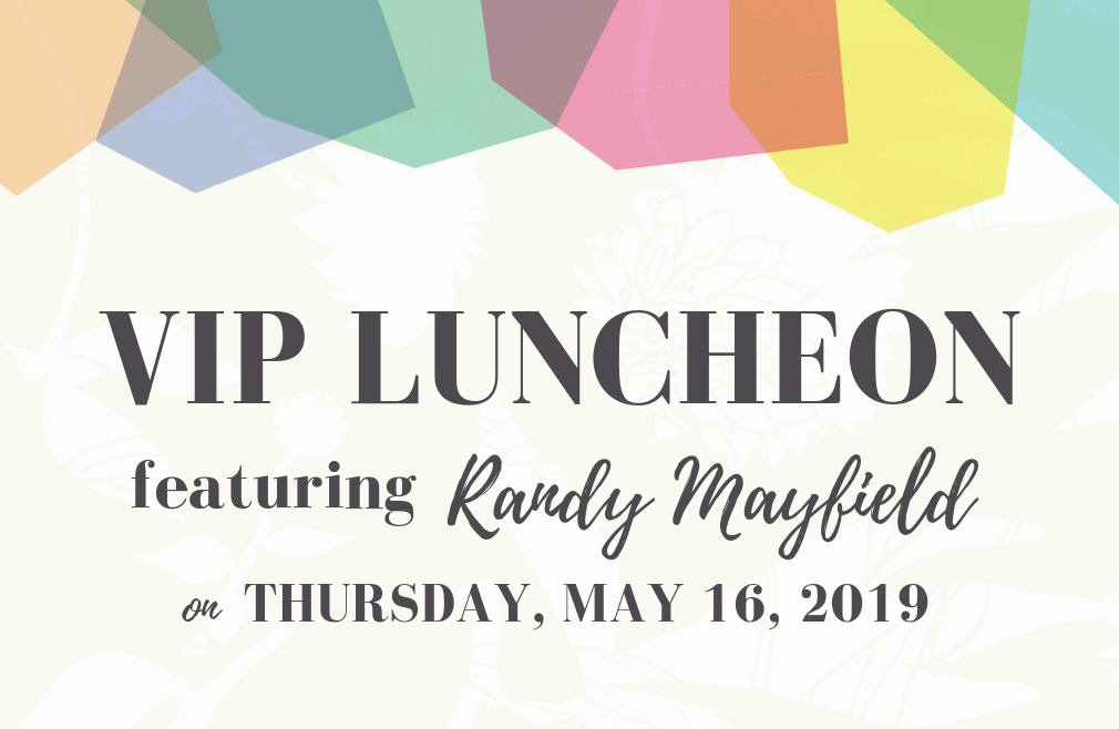 VIP Luncheon | Randy Mayfield