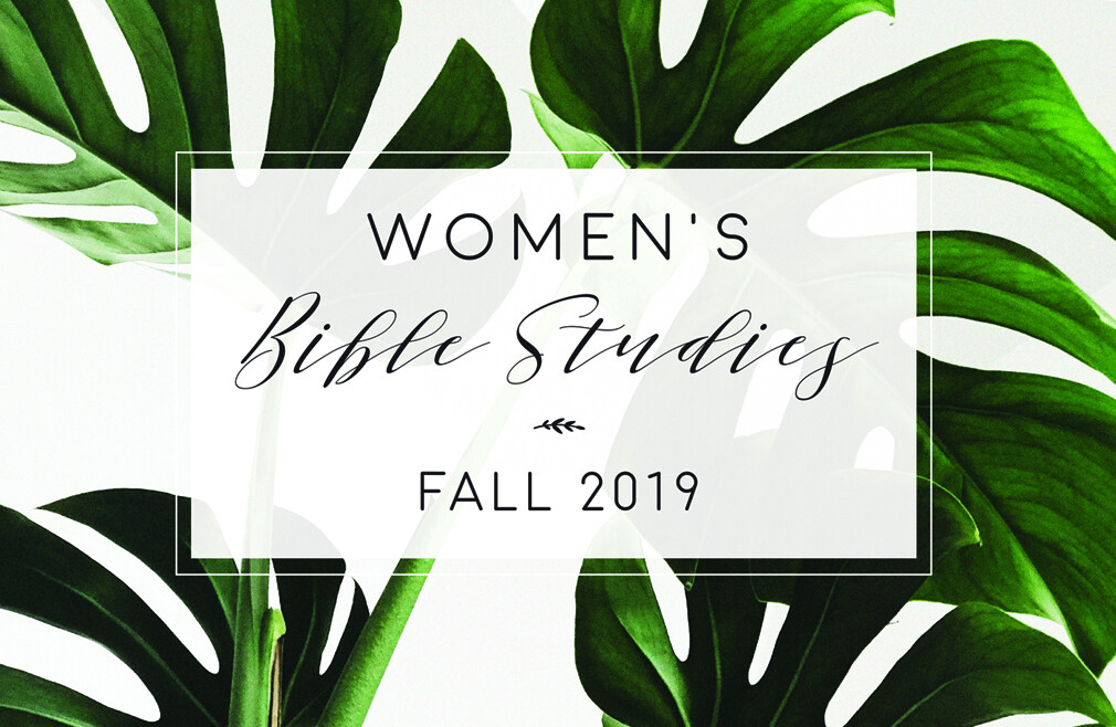 Women in Ministry Group Study & Discussion - Fall 2019