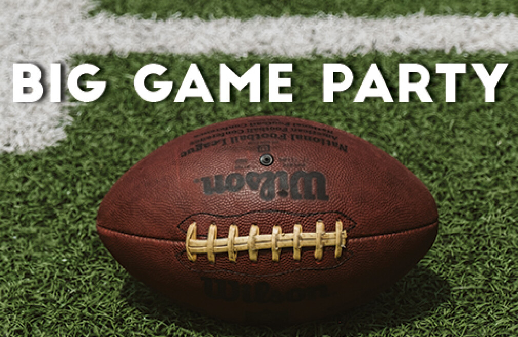 High School Big Game Party