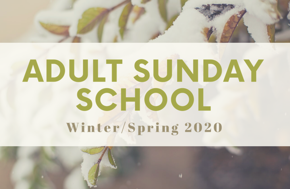 Adult Sunday School | W/S 2020